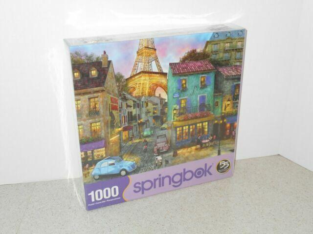 Springbok Eiffel Magic 1000 Piece Jigsaw Puzzle