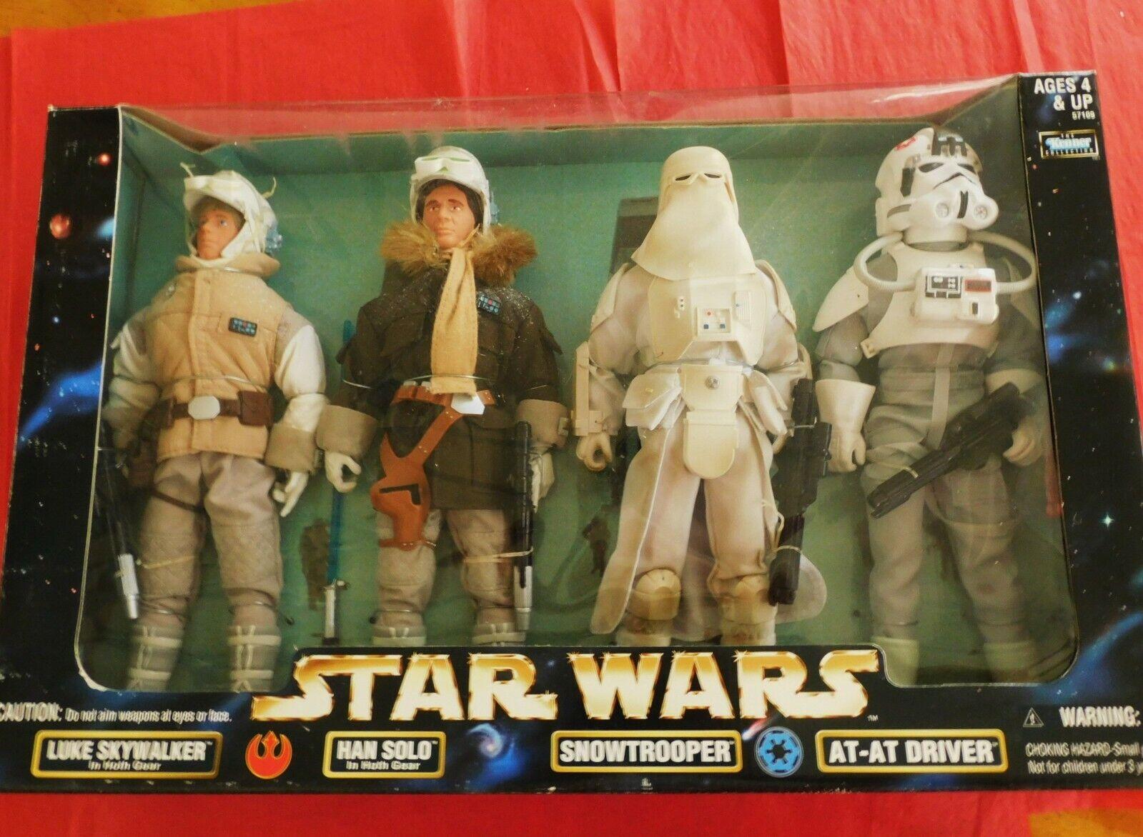 STAR WARS Figura Luke Skywalker nella Hoth Gear Action figure da KENNER NUOVO
