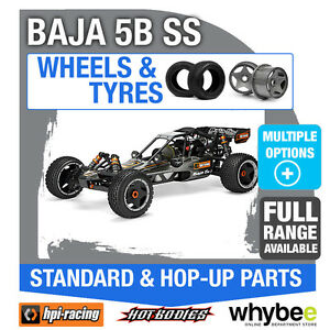 Hpi Baja 5b Ss Roues & Pneus Pièces d'origine 1/5 R / c standard / à monter