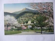 Ansichtskarte Zwingenberg Blick auf Melibakus Frühling Bergstrasse