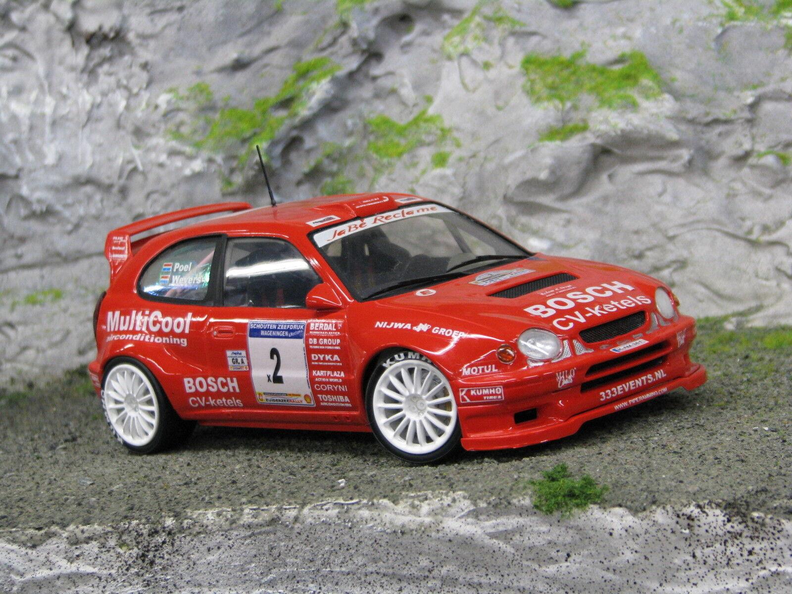 QSP Toyota Corolla WRC 1998 1:24  2 Wevers / Poel Zuiderzee Rally 2004