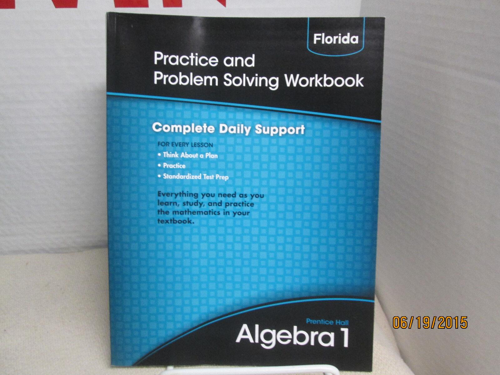prentice hall algebra 1 practice and problem solving workbook answer key