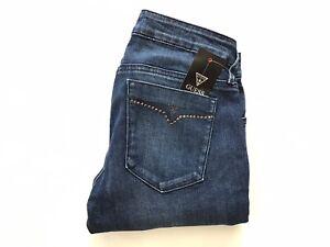 Guess-pour-Femme-Kate-Jeans-Moulant-Embellissements-Details-Bleu-Moyen-Taille-27