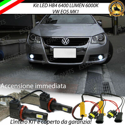 Kit Full Led Vw Eos Lampade Hb4 Fendinebbia Canbus 6400 Lumen Ebay