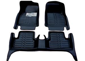 Car Floor Mats Front /& Rear Liner Waterproof Mat For Kia Forte 2010-2019