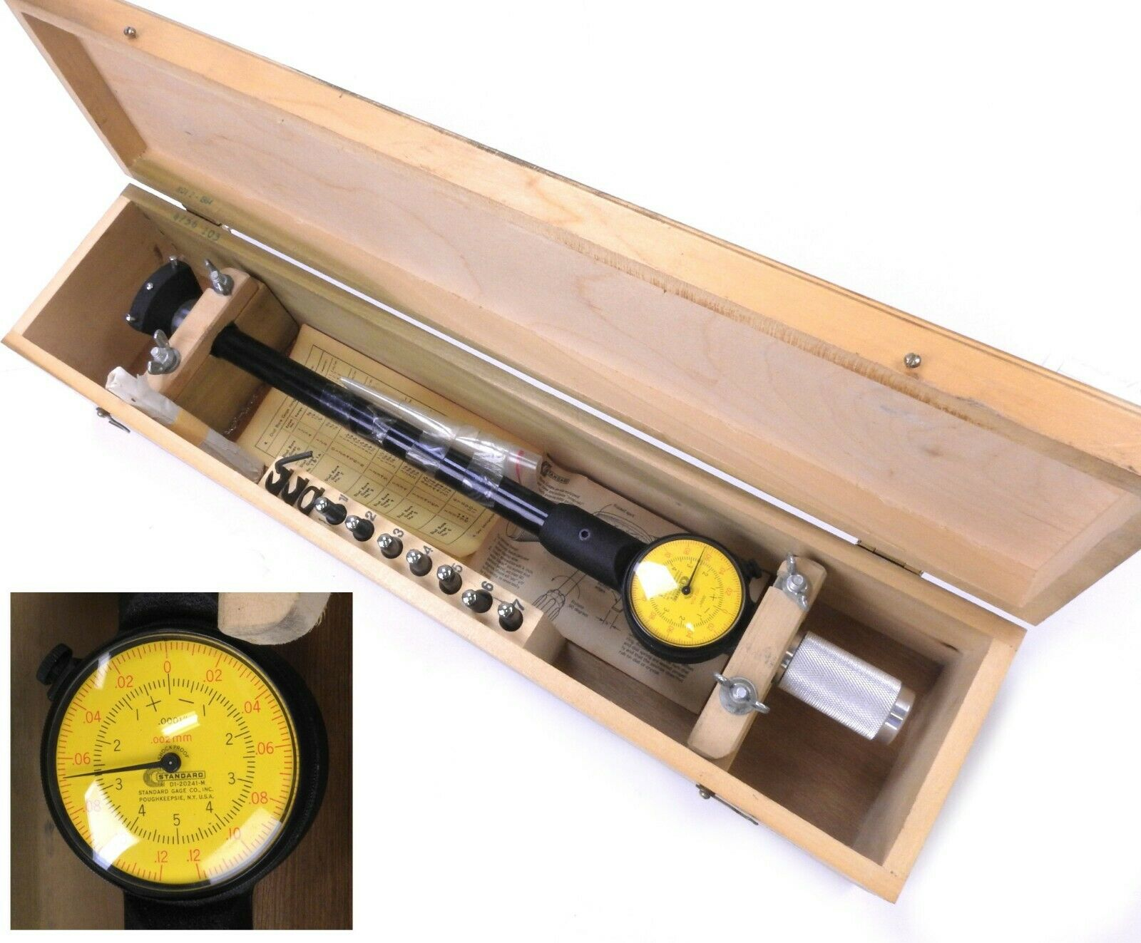 Standard Dorsey Dual Scale Dial Bore Gage No 5