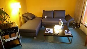 signet good life funktionsecke sofa schlafsofa liege ebay. Black Bedroom Furniture Sets. Home Design Ideas