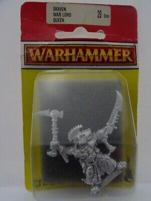 20dm Skaven: Era Lord Queek (warhammer Fantasy, Games Workshop, Gw) 502002002-mostra Il Titolo Originale