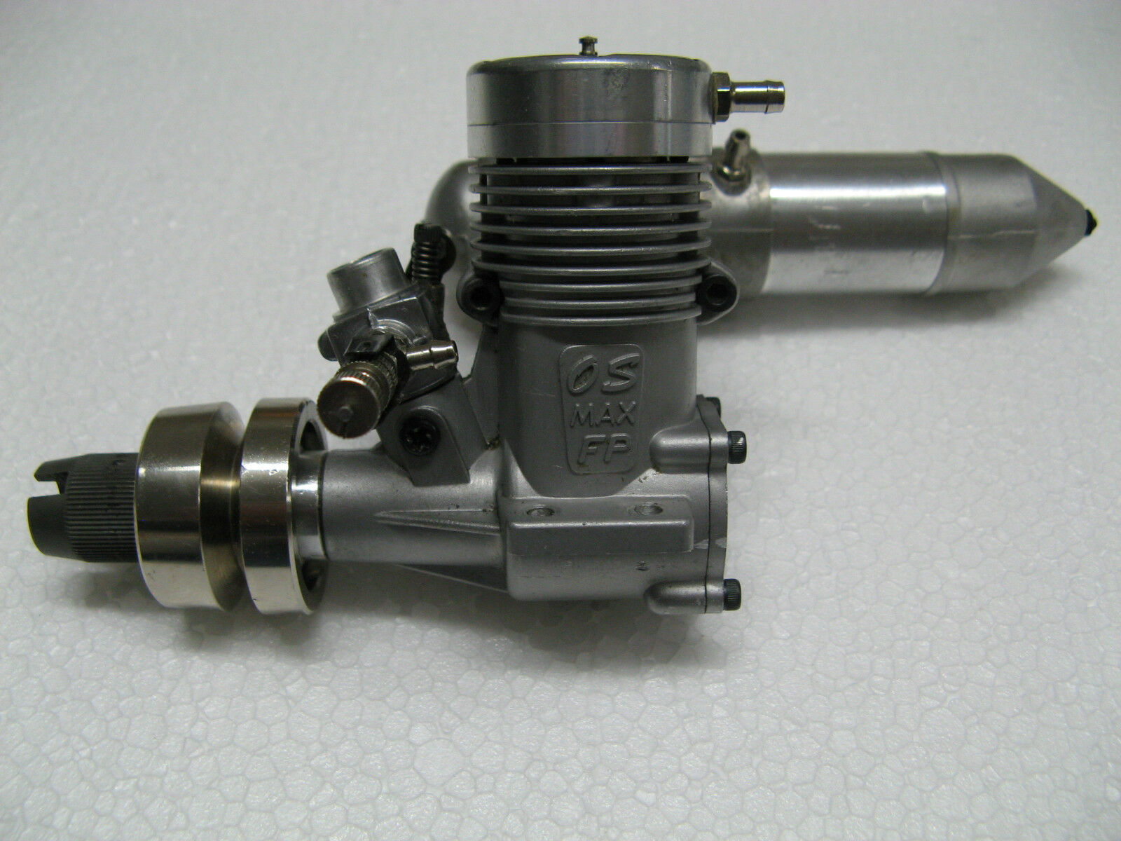 GRAUPNER: OS MAX 20 FP-M motore a combustione interna  1410 con silenziatore