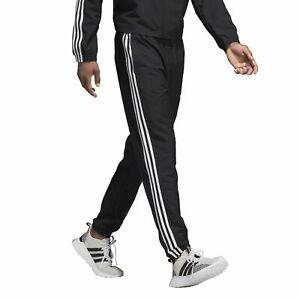 Details about Adidas Mens Training Jogging Pants Essentials 3 Stripe Wind  Pant Black- show original title