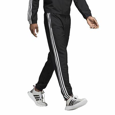 adidas Herren Trainings Jogging Hose Essentials 3 Streifen Wind Pant schwarz | eBay