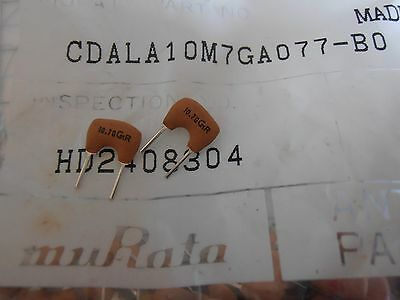 10x CDALA10M7GA077-B0  CERAMIC discriminator FILTER for FM 10.70MHz ±30KHz DIP2