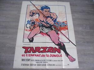 AFFICHE-CINEMA-TARZAN-ET-L-039-ENFANT-DE-LA-JUNGLE-GORDON-1968-120X160-TBE