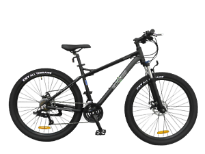 """Ecosmo 27.5"""" Lightweight Alloy Mountain bike bicycle 24 SP Dual Disc -27AM02BL"""