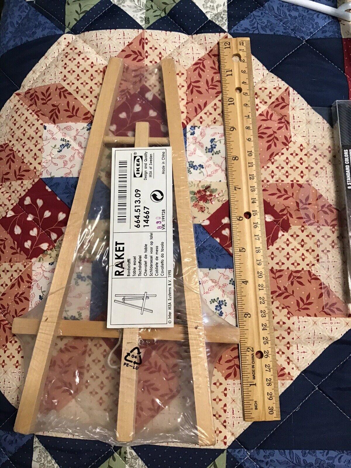 Raket Ikea Table Easel New 664 513 09 Wooden Folding 12 New Sealed For Sale Online