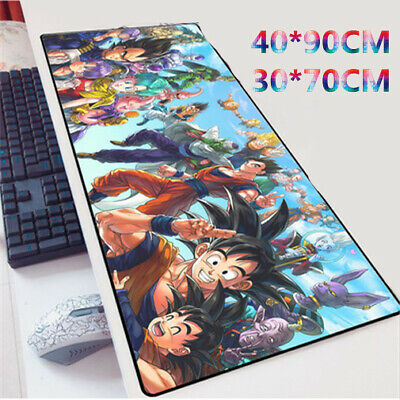 Dragon Ball Super Black Goku Anime Large Mouse Pad Playmat Laptop Keyboard Mat