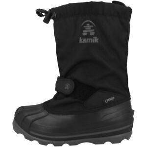 Kamik Waterbug 8 G Chaussures Enfants Bottes Bottes D'hiver Boots Black Nk8805-blk-afficher Le Titre D'origine Les Consommateurs D'Abord