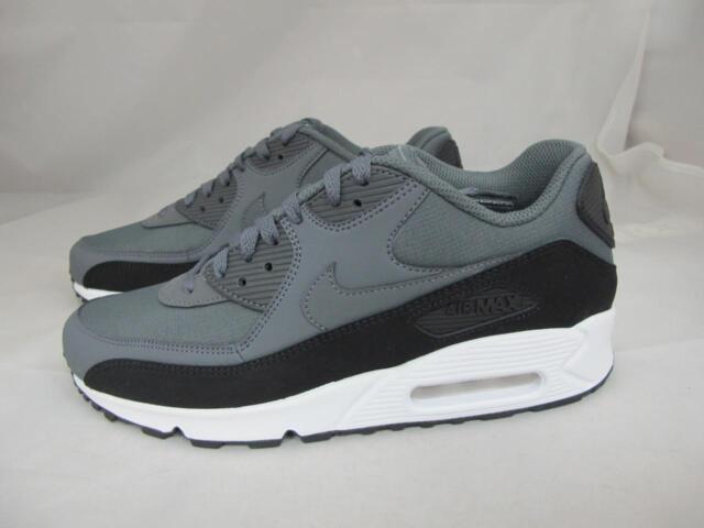 502d4cb0c54a Nike Air Max 90 Essential Mens 537384-085 Dark Grey Running Shoes ...