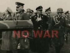 Authentic photo WWII German Generalfeldmarschall Werner von Blomberg & marshals+