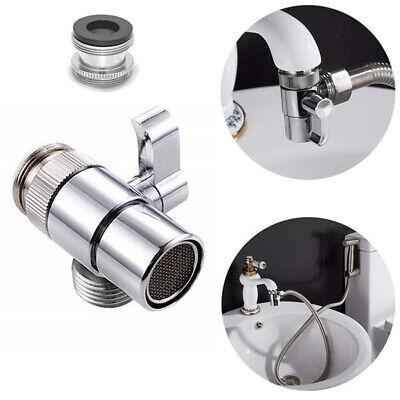 Universal Home Faucet Adapter Diverter Valve Kitchen Sink to Garden Hose  Adapter | eBay