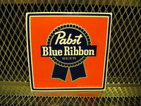 Pbr Pabst Blue Ribbon Beer Sticker 5 Square Decal Free Us Ship