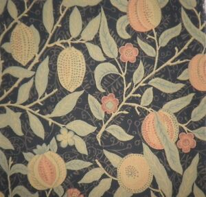 ZOFFANY Fruit Black/green new remnant