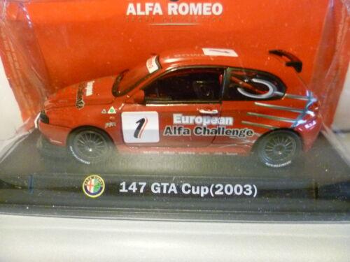 ALFA ROMEO 147 GTA CUP N° 1 de 2003 ~  NEUF