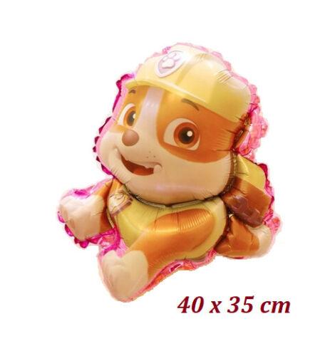 Paw Patrol Folien Luft Ballon Figur Marshall Rubble Chase Skye Kindergeburstag