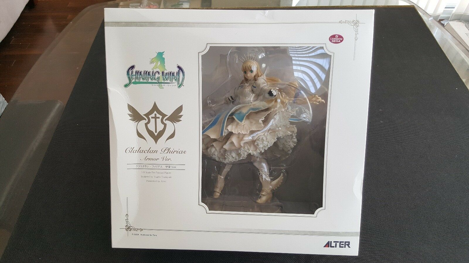 Shining Wind - Clalaclan Philias PVC Statue - - - Alter (Opened) 5eaf43