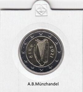 Irland - Kursmünzen 2002 - 2021 (wählen Sie von 1 Cent bis 2 Euro) stgl. KMS
