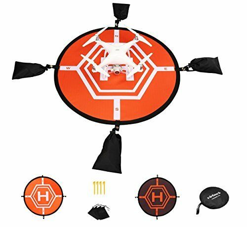 80cm Drone Drone Drone plataforma de aterrizaje Escudo Protector para DJI Mavic Pro/DJI Spark/DJI en f610a5