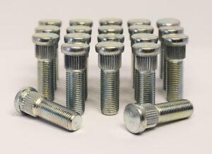 """Hub Stud 3//8/"""" UNF 10.3mm Spline 50mm Long 20 x Knock In Replacement Wheel"""