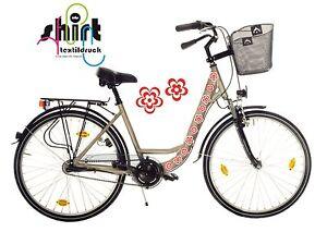 Details Zu Da 306 Blumen Retro Design Aufkleber Für Rutscheauto Dreirad Fahrrad Usw
