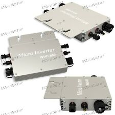600W 110V Waterproof  Grid Tie Inverter W/ MPPT Function MC4 for 36V Solar Panel