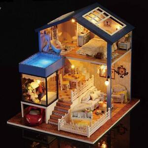 Seattle cottage dollhouse miniature diy kit dolls house with image is loading seattle cottage dollhouse miniature diy kit dolls house solutioingenieria Choice Image