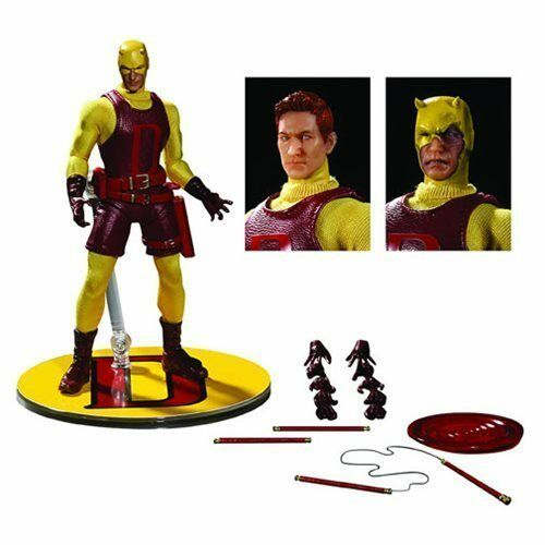 Darossoevil giallo One:12 One:12 One:12 Collective Action Figure-PX Exc NEW c2f3df