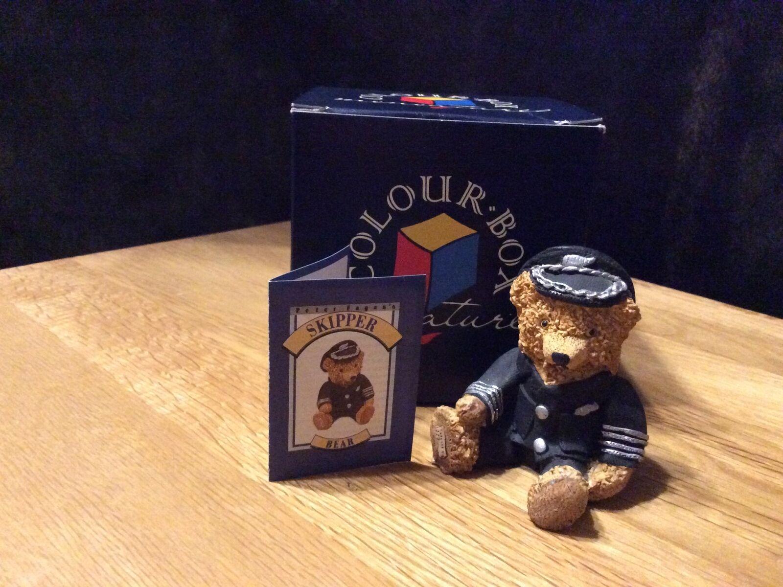 Peter Fagan Colourbox Bear - Skipper