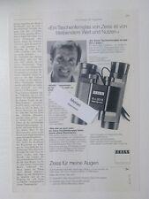 Werbeanzeige/advertisement A4: Zeiss Taschenfernglas 8x20 B 11/1981 (290316215)