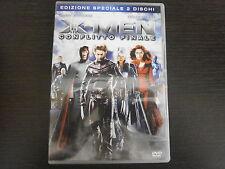 X-MEN CONFLITTO FINALE - 2 DISCHI - FILM IN DVD ORIGINALE - COMPRO FUMETTI SHOP