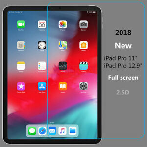 """9H Tempered Glass Film Anti-Scratch Screen Protector for iPad Pro 11/"""" /& 12.9/"""""""