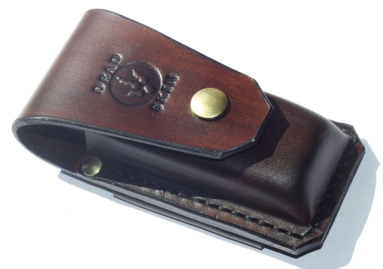 AU Leather Multitool sheath For leatherman-Surge 300 Heavy duty horizontal