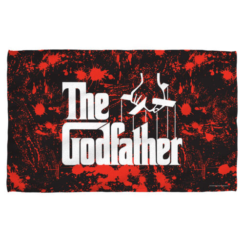The Godfather Classic Movie Poster LOGO Blood Spatter Lightweight Beach Towel