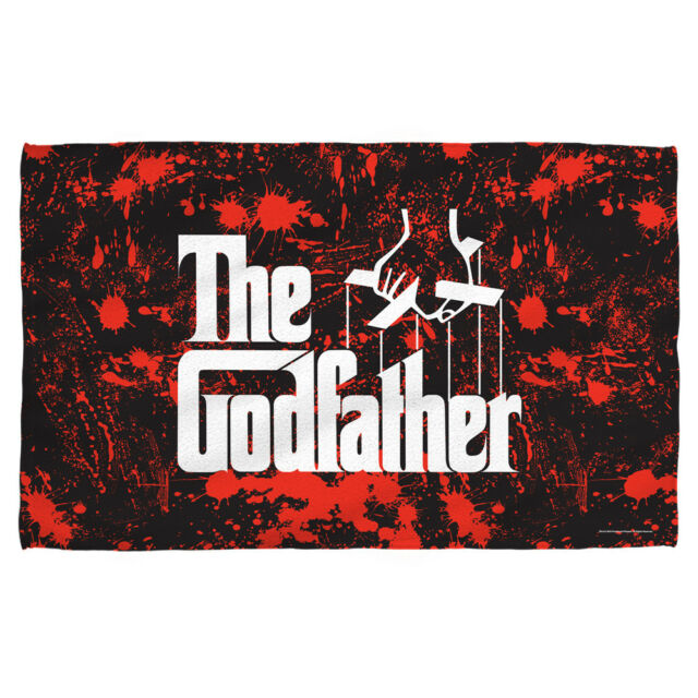 The Father Clic Movie Poster Logo Blood Spatter Lightweight Beach Towel
