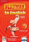 Playway to English Level 1 Activity Book with CD-ROM: Level 1 by Herbert Puchta, Gunter Gerngross (Mixed media product, 2009)
