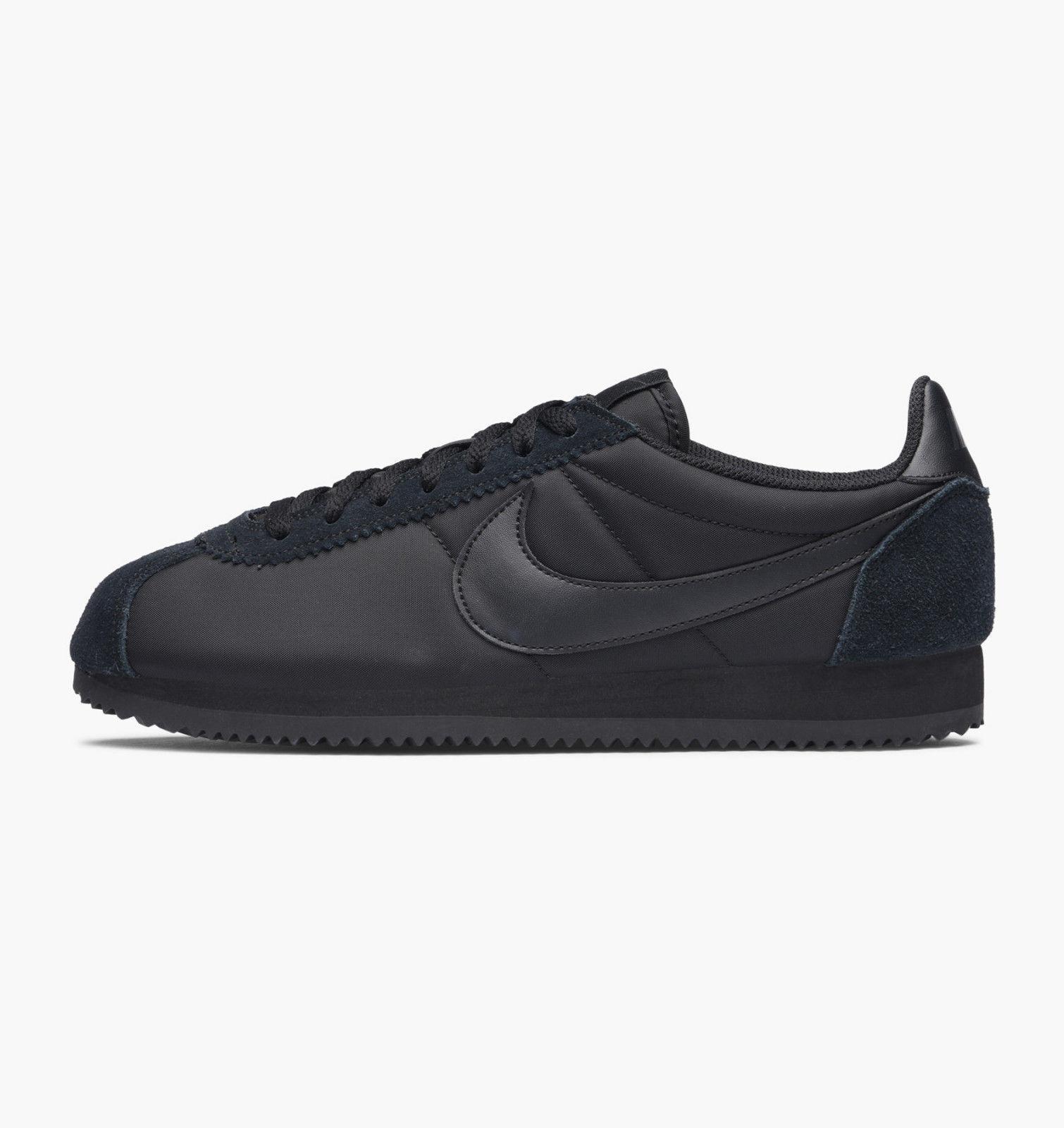 Nike Classique Cortez Nylon Baskets negro 807472-007 Eu Eu Eu 11 Eu 46  ganancia cero