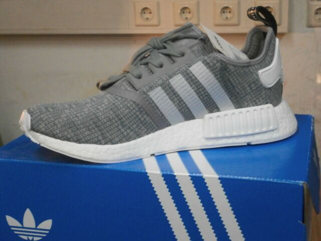 Herren adidas Originals NMD R1 Sneaker grau 45 13