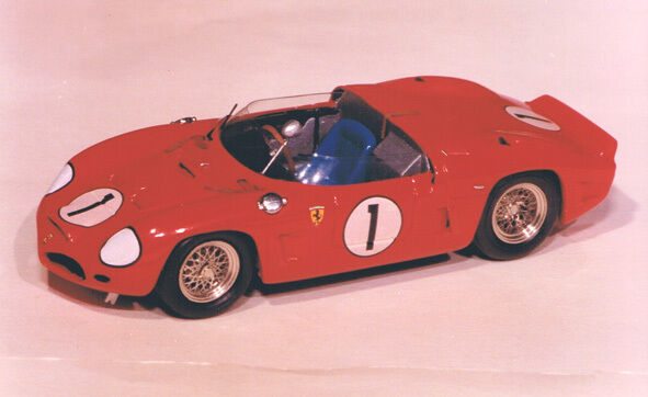 FERRARI FERRARI FERRARI 246 SP Phil HILL 2ndOA Daytona'62 - 1 43 w- metal & resin JIELGE KIT 75e b9a4c2