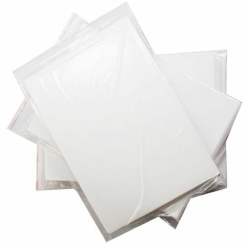 A4 Inkjet Light Water Transfer Paper for Cup Decal Craft DIY white