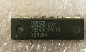 National Semiconductor INS4001-P18