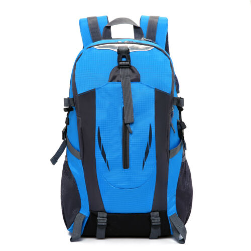 Details about  /Waterproof Outdoor Sport Hiking Camping Travel Backpack Rucksack Bag USB